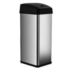 13 Gallon Kitchen Trash Can Foldable Table Buy Cans Online At Overstock Com Our Best Itouchless Square Extra Wide Opening