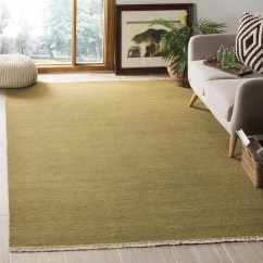 Living Room With Light Green Carpet Leather Sofa Pictures Shop Indo Handmade Sumak Flatweave Rug 10 X 14 X27