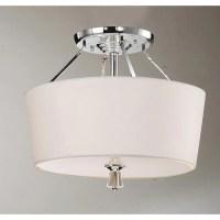 Shop Crystal Finial Chrome Ceiling Lamp