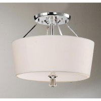 Shop Crystal Finial Chrome Ceiling Lamp - Free Shipping On ...