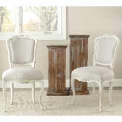Safavieh Dining Chairs Pillowcase Chair Covers For Classroom Old World Provence Antiqued French Details About Set Of 2