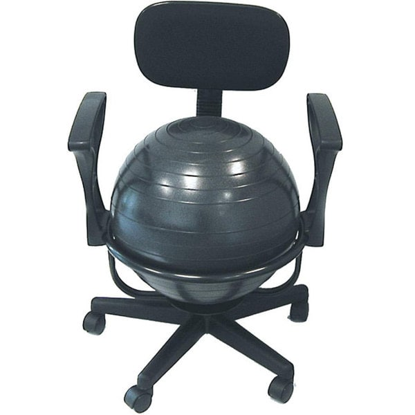 office chair ball chaise lounge beach shop cando metal on sale free shipping today overstock com 4455350