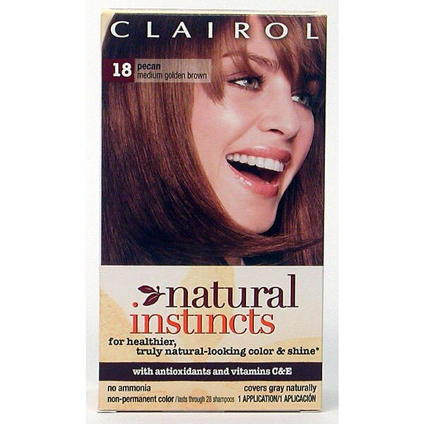 Clairol Natural Instincts Chart