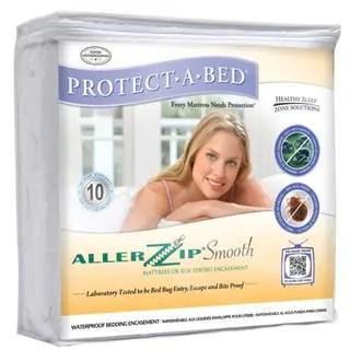 Allerzip Smooth Twin Size Bedbug Proof Mattress Protector