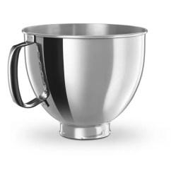Kitchen Aid Standing Mixer Design And Remodeling Shop Kitchenaid K5thsbp Artisan 5-quart Stainless Bowl ...