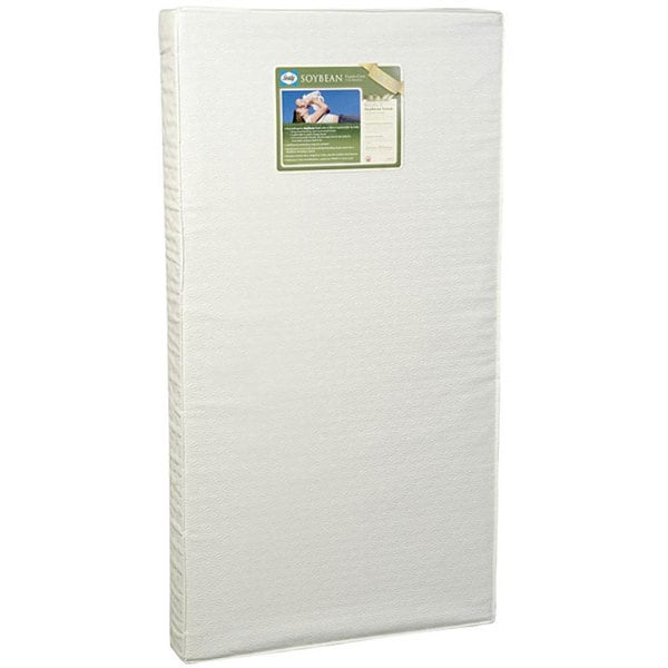 Sealy Soybean Foam Core Crib Mattress  Free Shipping Today  Overstockcom  12504717