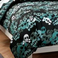 Skulls 5-piece Twin-size Bed in a Bag with Sheet Set ...