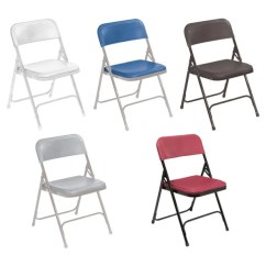 Folding Chair For Living Room Platner Lounge Shop Nps Premium Lightweight Plastic Pack Of 4 On Sale Free Shipping Today Overstock Com 4662054