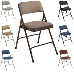 Public Seating Chairs Chair Stand Test Score Shop National Fabric Upholstered Premium Folding Pack Of 4