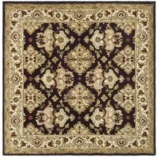 Safavieh Handmade Antiquities Kasadan Olive Green Wool Rug 8 Square Free Shipping Today