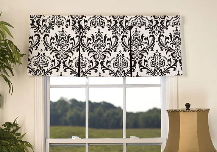 Kitchen Wood Valances