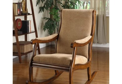 Product Reviews Vintage Leather Rocking Chair Overstock