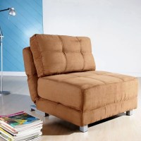 New York Brown Convertible Chair Bed - 12693956 ...