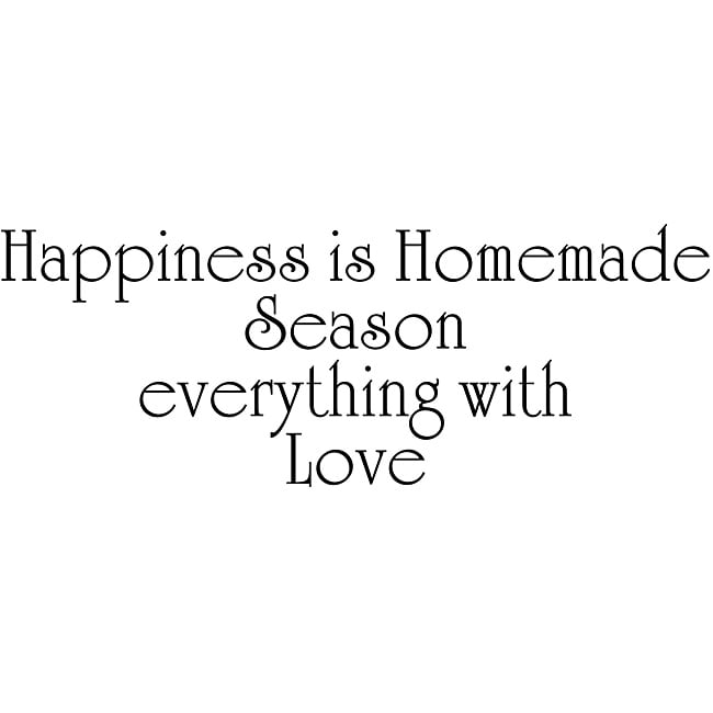Download Design on Style 'Happiness Is Homemade - Season Everything ...