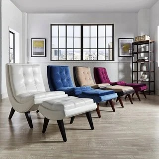 living room chair and ottoman plumbing free pedicure buy high back sets chairs online at albury two tone lounging with by inspire q bold