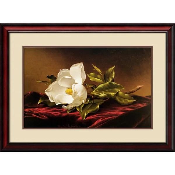 Shop Martin Johnson Heade Magnolia Grandiflora Framed