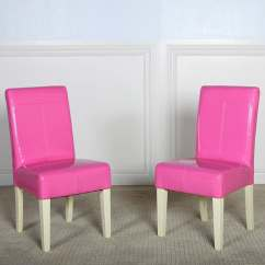 Teal Faux Fur Saucer Chair Black Office Covers Isabella Pink Patent Leather Dining (set Of 2) - Free Shipping Today Overstock.com ...