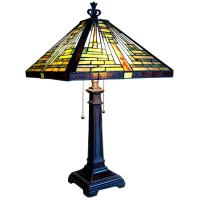 Tiffany-style Mission Table Lamp - Free Shipping Today ...