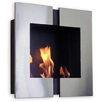 Wall Mounted Jazz 2 Bio Ethanol Fireplace - Free Shipping ...