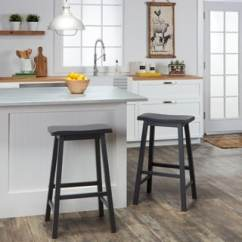 Kitchen Bar Stool Granite Top Cart Shop Salvador Saddle 29 Inch Counter Height Backless Stools Set Of 2 By Inspire Q Bold Free Shipping Today Overstock Com 5108785