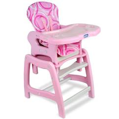 Badger Basket High Chair Cover For Wedding On Sale Shop Envee Baby Play Table In Pink Free Shipping Today Overstock Com 5158127