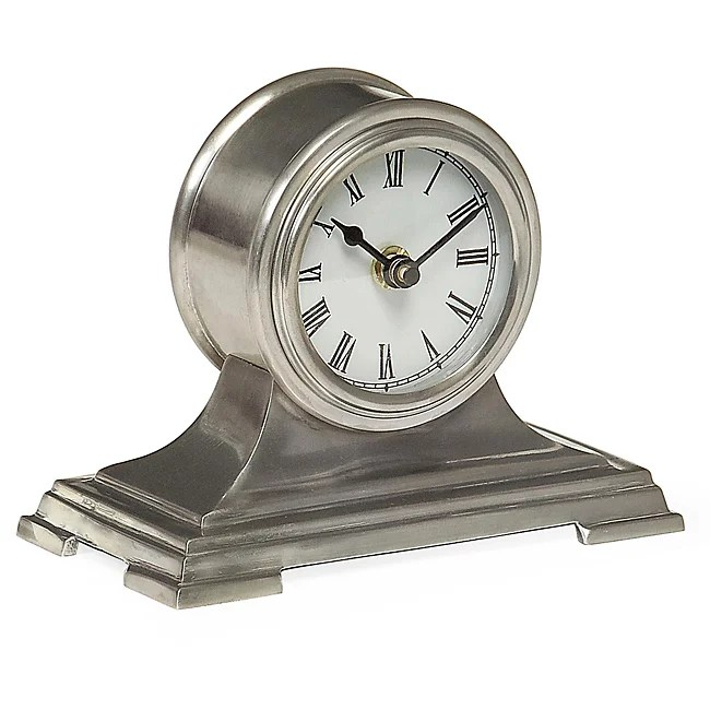 Brass Regent Small Desk Clock