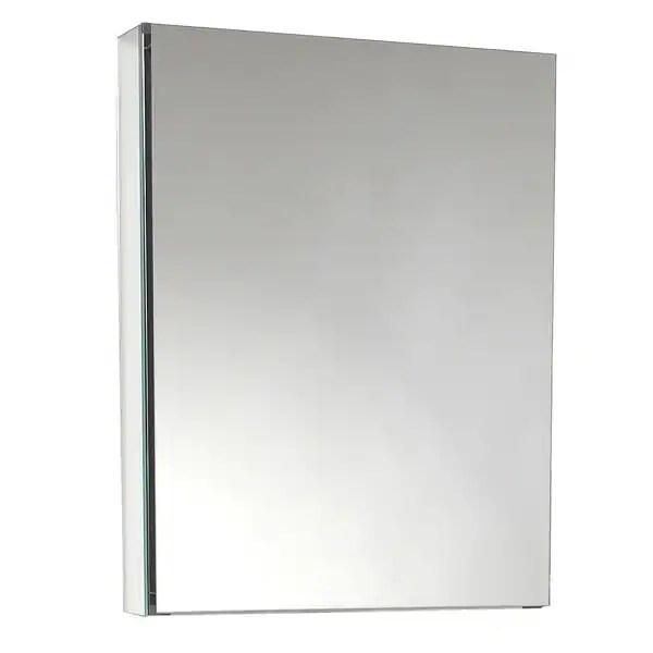 Shop Fresca Small Bathroom Mirror Medicine Cabinet  Free