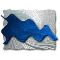 Ash Carl 'Hydrodynamic' Metal Wall Art - 13040229 ...