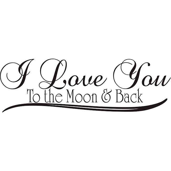 Download Design on Style 'I Love You to the Moon and Back' Vinyl ...