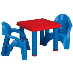 Resin Table And Chairs Set Hanging Chair Tree Shop American Plastic Toy Blue Red Free Shipping On Orders Over 45 Overstock Com 5271994