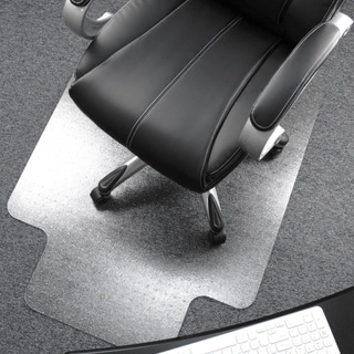 desk chair mats wingback office buy online at overstock com our best home cleartex ultimat mat clear polycarbonate rectangular with lip size 48