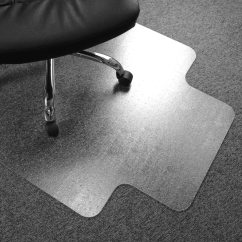 Clear Chair Mat World Market Metal Chairs Cleartex Advantagemat Pvc For Plush Pile Carpets Over 3 4