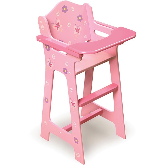 Shop Badger Basket Doll High Chair  Free Shipping On