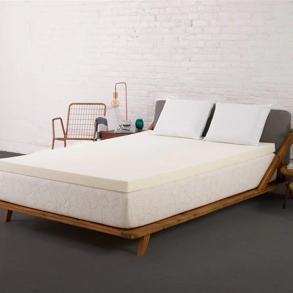 Authentic Comfort 3 Inch Memory Foam Mattress Topper