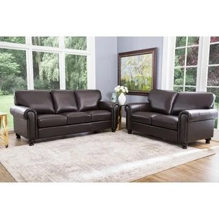 abbyson leather sofa reviews cape town studio top product for london grain 2 piece living room set
