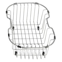 Steel Chair Accessories Discontinued Thomasville Dining Chairs Shop Kraus Kitchen Accessory Stainless Sink Rinse Basket Free Shipping Today Overstock Com 5316582