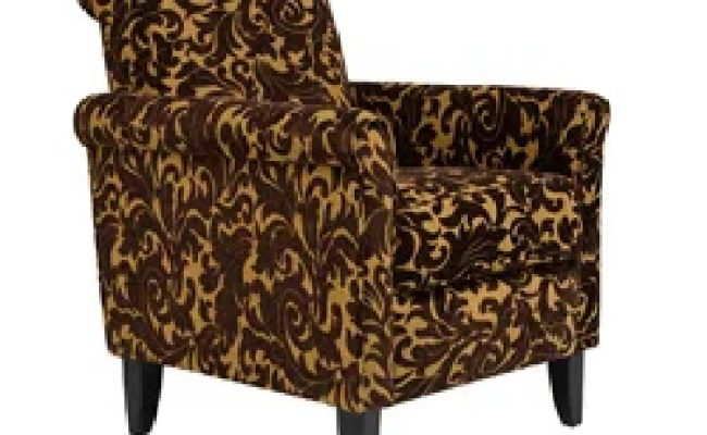 Angelo Home Harlow Java Brown Velvet Accent Arm Chair