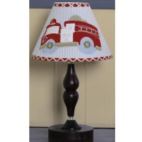Geenny Fire Truck Lamp Shade - 13281942 - Overstock.com ...