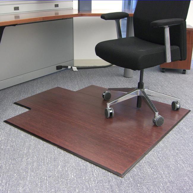 bamboo chair mat silver narnia shop eco supreme cherry 47 x 51 on sale thumbnail x27