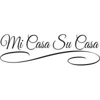 Shop Design on Style 'Mi Casa Su Casa' Vinyl Art Quote ...