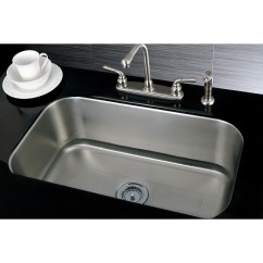 30 Inch Kitchen Sink Home Depot Sinks And Faucets Single Bowl Stainless Steel Undermount