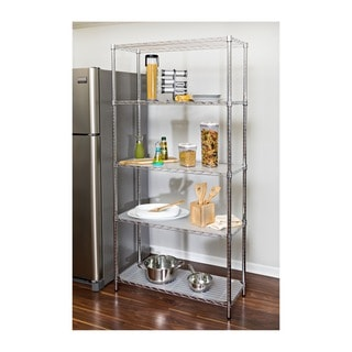 kitchen pantry storage rolling chairs buy online at overstock com our best honey can do steel shelving