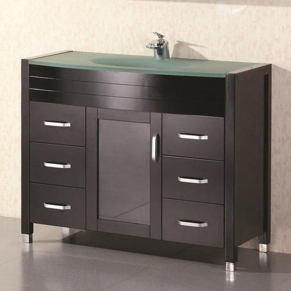 Design Element Cascade Modern Bathroom Vanity  76 x 96