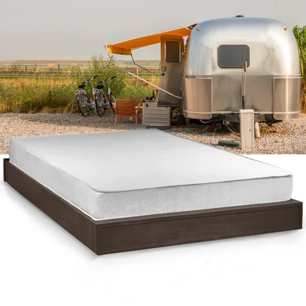 Select Luxury Home Rv 8 Inch Full Short Size Memory Foam Mattress