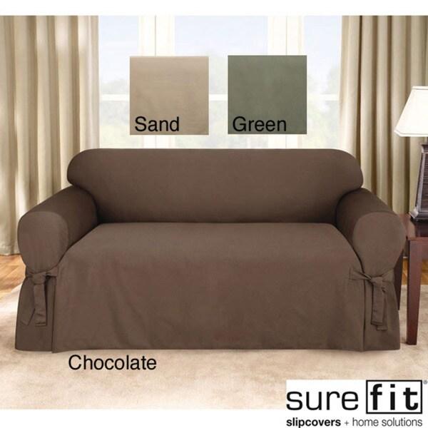 sure fit logan sofa slipcover blue velvet corner uk shop free shipping today overstock com 5706776