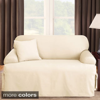 durham one piece sofa slipcover lay z boy reviews uk sure fit slipcovers - overstock shopping the best prices ...