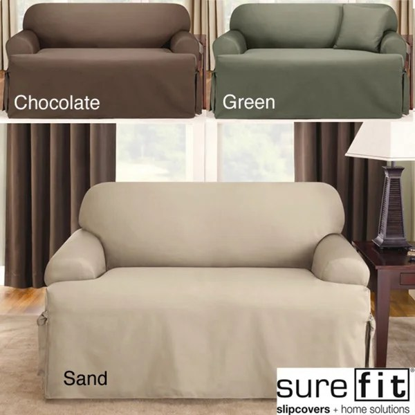 sure fit logan sofa slipcover bed covers uk shop t cushion free shipping on