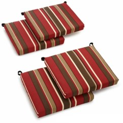 Outdoor Patio Chair Cushions Ashley Accent Chairs Shop Blazing Needles All Weather Cushion Set Of 4