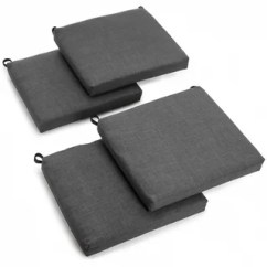 Chair Cushions Outdoor Orange Buy Grey Pillows Online At Overstock Com Our Blazing Needles 20 Inch All Weather Patio Cushion Set Of 4