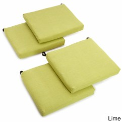 Outdoor Chair Cushions Set Of 4 Chairs In Spanish Language Blazing Needles 20 Inch All Weather Patio Cushion